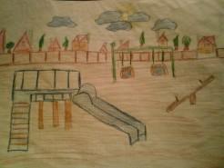 Picturi cu peisaje Parc