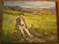 Picturi cu peisaje Cioban
