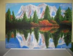 Picturi cu peisaje Reflexie1