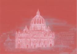 Picturi cu peisaje Bazilica Sfantul Petru