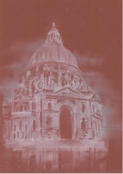 Picturi cu peisaje Santa Maria della Salute - Venetia