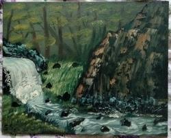 Picturi cu peisaje Forest
