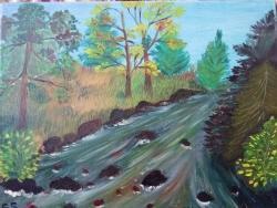 Picturi cu peisaje Rivee