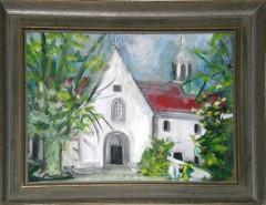 Picturi cu peisaje Bisericuta