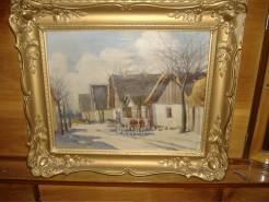 Picturi cu peisaje Falusi jelenet