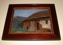 Picturi cu peisaje Grajdul