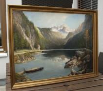 Picturi cu peisaje Peisaj  austriac