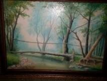 Picturi cu peisaje Valea ariesului