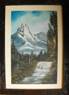Picturi cu peisaje Waterfall