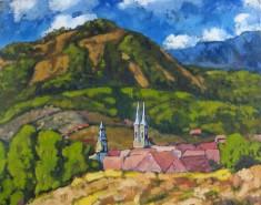 Picturi cu peisaje Baia sprie