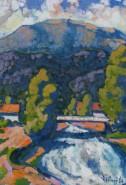 Picturi cu peisaje Ferneziu