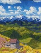 Picturi cu peisaje Muntii maramuresului