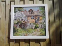 Picturi cu peisaje Casa de tara