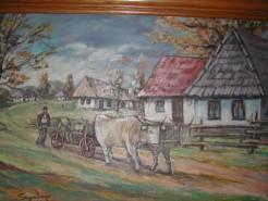 Picturi cu peisaje Peisaj maramuresan