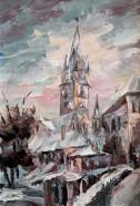 Picturi cu peisaje Biserica evanghelica