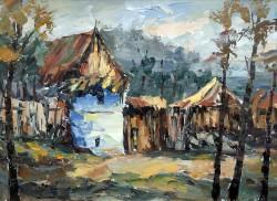 Picturi cu peisaje Casa la sibiel