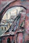 Picturi cu peisaje Pasajul scarilor