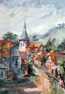 Picturi cu peisaje Salut romanesc