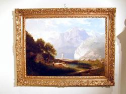 Picturi cu peisaje TABLOU BIEDERMAIER