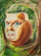 Picturi surrealism Mihail Sadoveanu in Nada Florilor