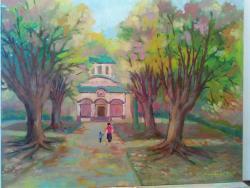 Picturi cu peisaje Cozia