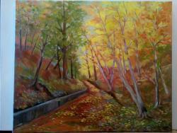 Picturi cu peisaje Peisaj padure