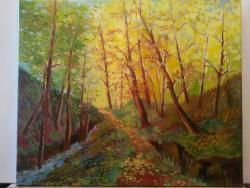 Picturi cu peisaje Peisaj padure 2