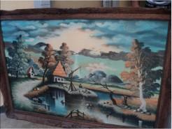 Picturi cu peisaje Inceput de toamna