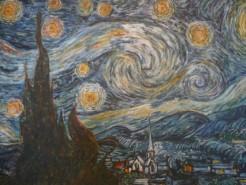 Picturi cu peisaje Noapte instelata
