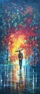 Picturi cu peisaje Aleea luminoasa
