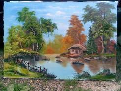 Picturi cu peisaje Intre anotimpuri