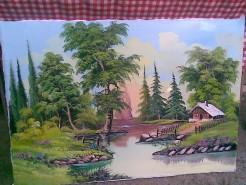 Picturi cu peisaje Natura linistita
