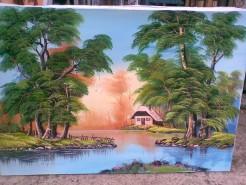 Picturi cu peisaje Rasaritul 2