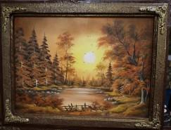 Picturi cu peisaje Toamna tarzie 2