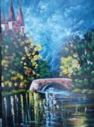 Picturi cu peisaje Turla palatului