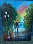 Picturi cu peisaje Ultimii stropi