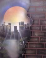 Picturi cu peisaje Hometown