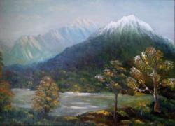 Picturi cu peisaje Semețul