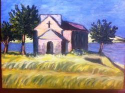 Picturi cu peisaje MICA BISERICA