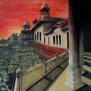 Picturi cu peisaje Orient