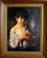 Picturi cu potrete/nuduri Amintiri din copilarie