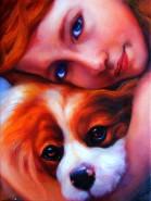 Picturi cu potrete/nuduri Prietenie 2