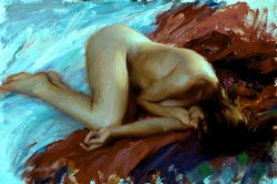 Picturi cu potrete/nuduri Racursiu 1