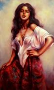 Picturi cu potrete/nuduri Tiganca