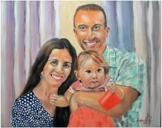 Picturi cu potrete/nuduri Familia francu