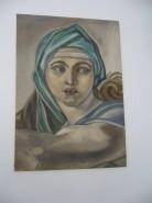 Picturi cu potrete/nuduri Sibila delfica