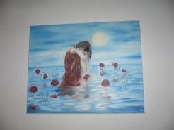 Picturi cu potrete/nuduri Tristete