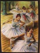 Picturi cu potrete/nuduri Balerine