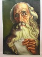 Picturi cu potrete/nuduri Batrinul cu scrisoarea
