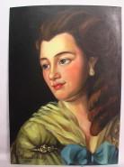 Picturi cu potrete/nuduri Femeie de epoca!